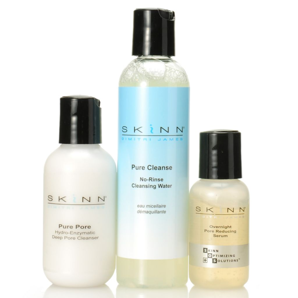 307-038 - Skinn Cosmetics Pure Cleanse, Pure Pore & Pore Reducing Serum Trio