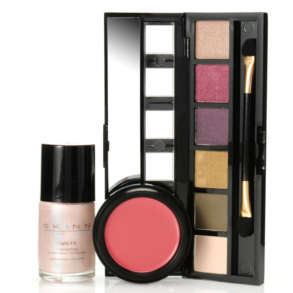 307-039 - Skinn Cosmetics Patina Eyeshadows, Color Touch & Light FX Enchanted Color Trio