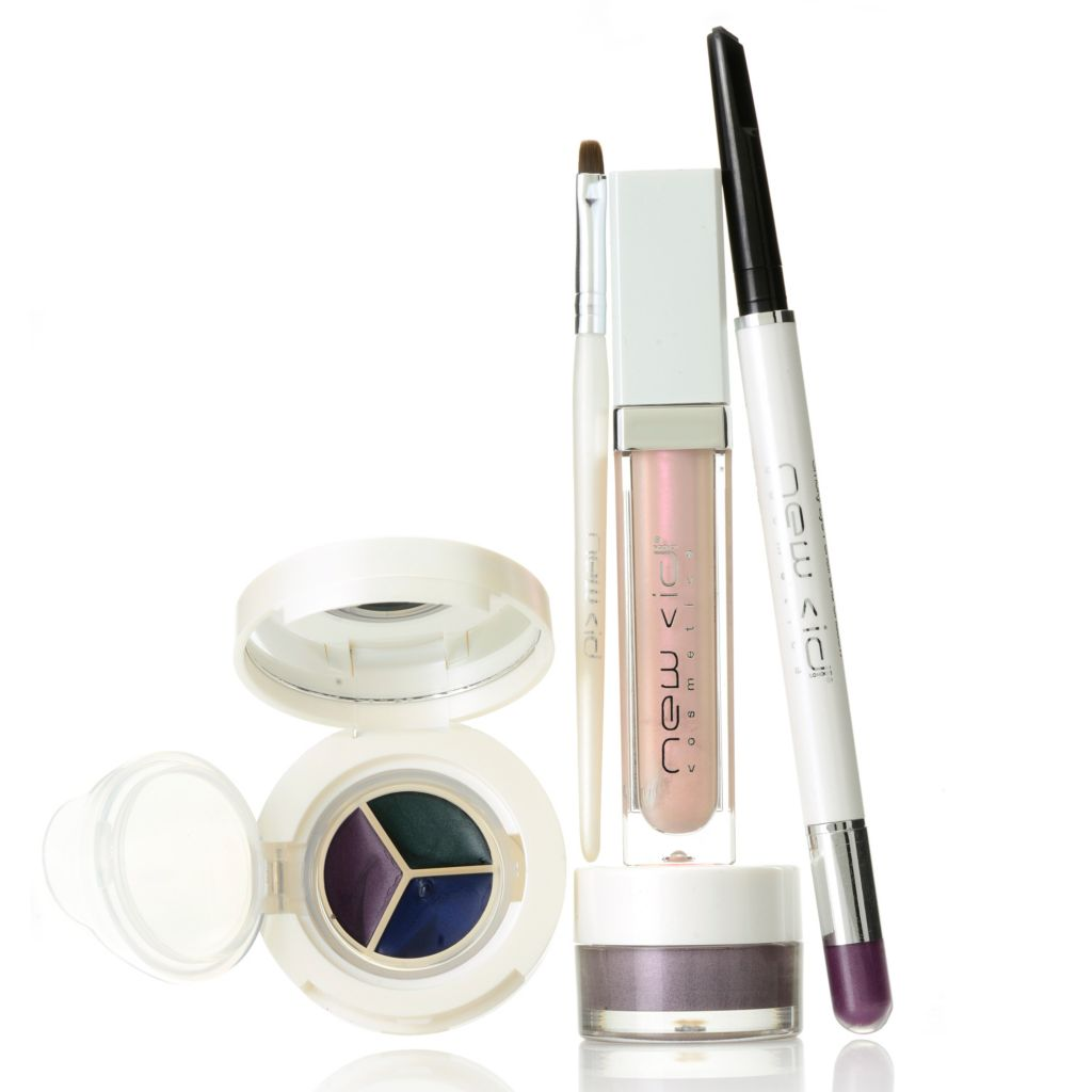 307-055 - New CID Cosmetics® Five-Piece Purple Color Collection for Eyes & Lips