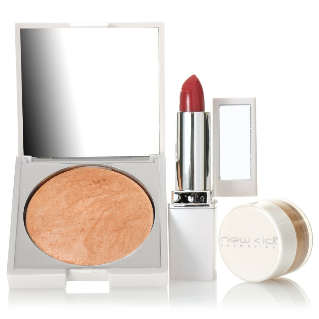 307-073 - New CID Cosmetics® Three-Piece Color Collection for Eyes, Lips & Face