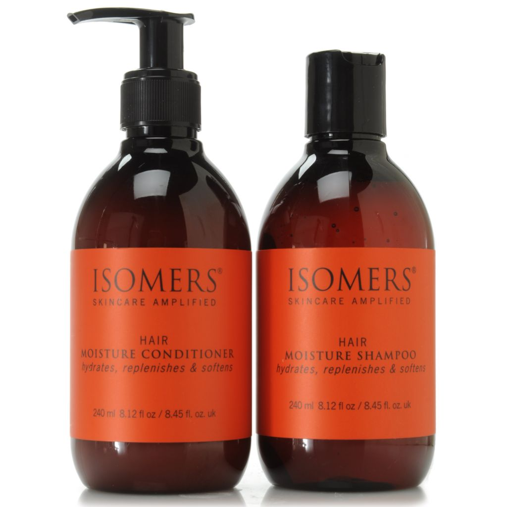 307-089 - ISOMERS® Hair Moisture Infusion Shampoo & Conditioner Duo 8.12 oz Each