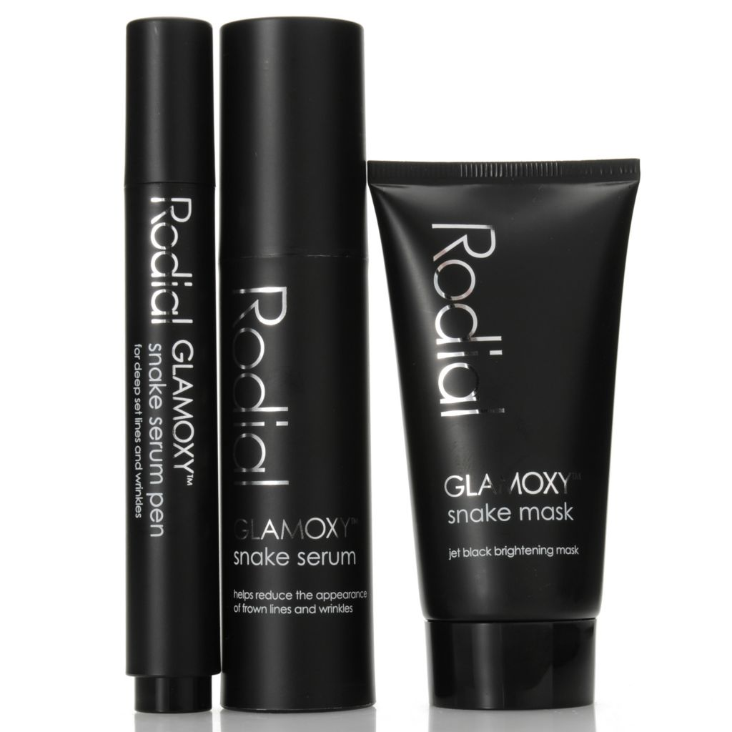 307-095 - Rodial GLAMOXY™ Snake Retexture, Smooth & Brighten Essentials Trio