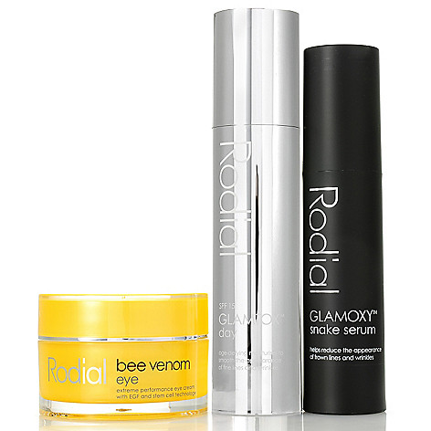 307-098 - Rodial Snake Serum, Bee Venom Eye & GLAMTOX™ Day Anti-Aging Trio