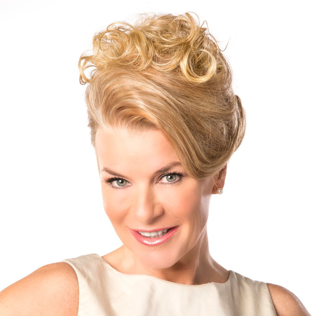 307-106 - Toni Brattin® Add-A-Do Crown Volumizer Hairpiece