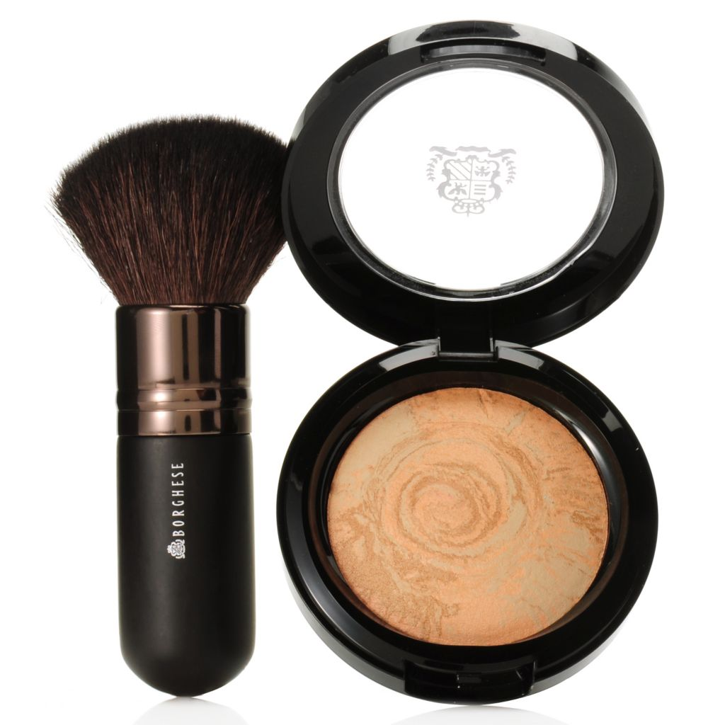 307-132 - Borghese Splendore Baked Bronzer & Professional Kabuki Brush Duo