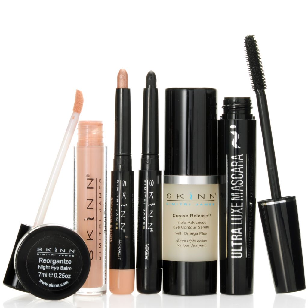 307-138 - Skinn Cosmetics Six-Piece Seductive Eyes Skincare & Color Collection