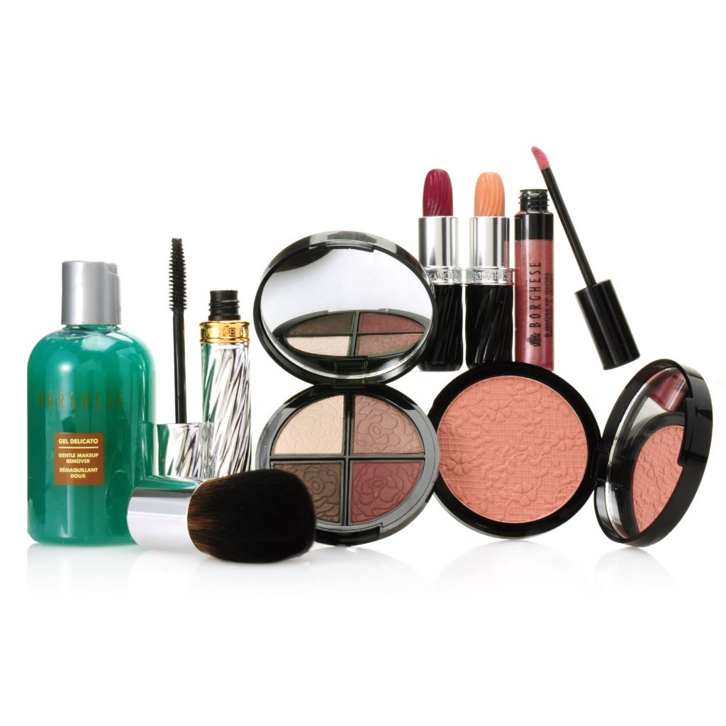 "307-169 - Borghese Eight-Piece ""Your Look"" Complete Color Collection for Eyes, Lips & Face"