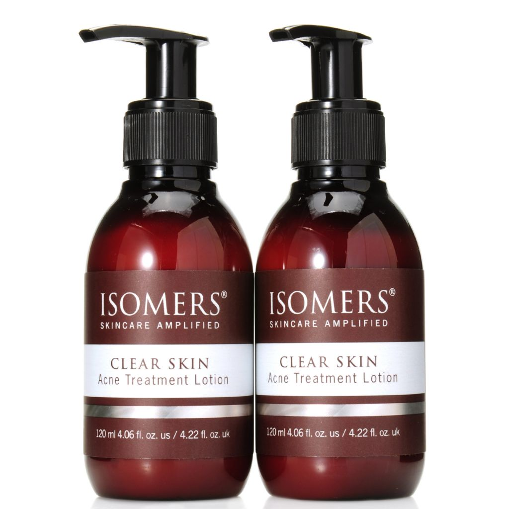 307-195 - ISOMERS® Clear Skin Acne Treatment Lotion Duo 4.06 oz Each