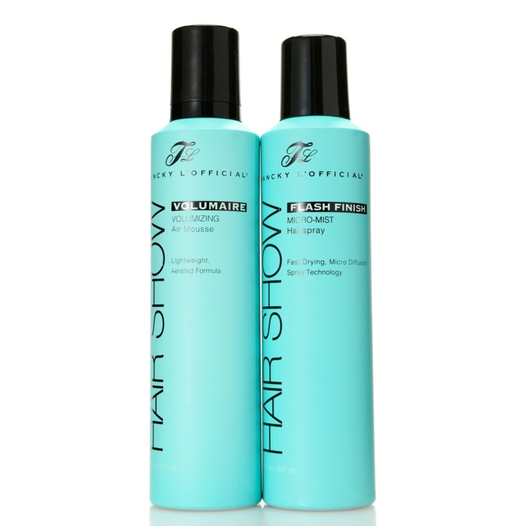 307-209 - Francky L'Official® Volumaire Mousse & Flash Finish Hairspray Duo