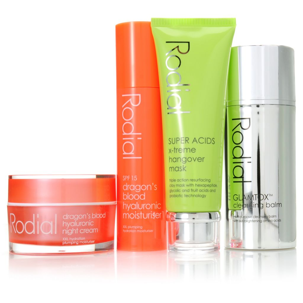 "307-218 - Rodial Four-Piece ""Good to Glow"" Radiant Skincare Essentials"