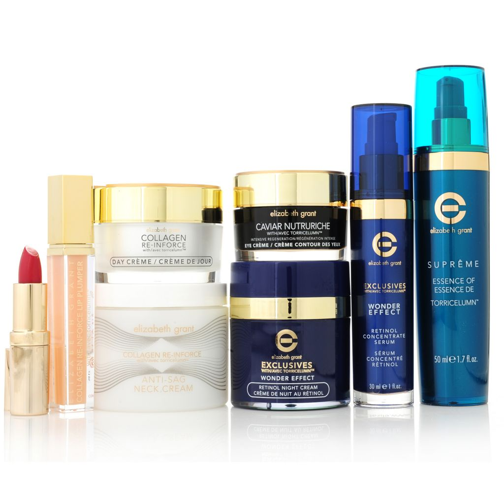 "307-227 - Elizabeth Grant Eight-Piece ""6th Anniversary"" Skincare & Color Collection"