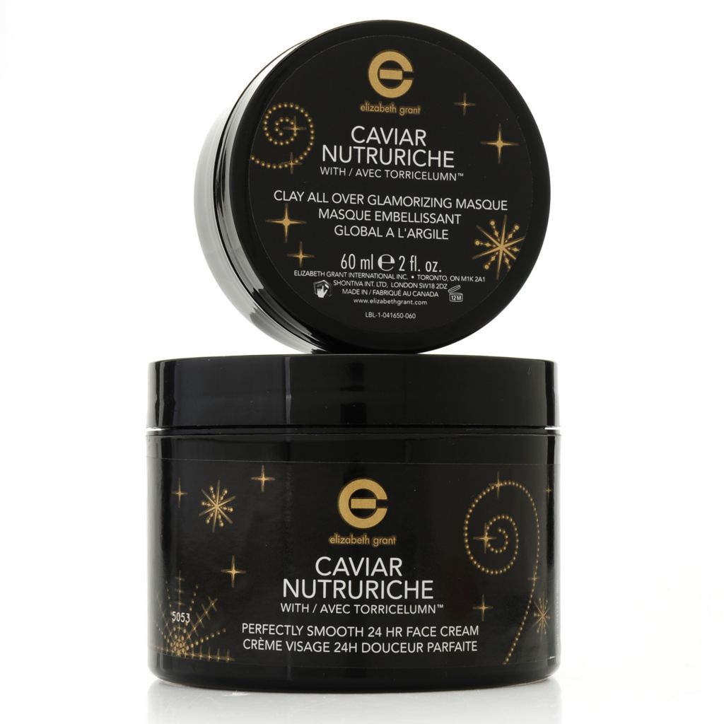 307-228 - Elizabeth Grant Caviar Nutruriche Face Cream & Glamorizing Masque Smooth Skin Duo
