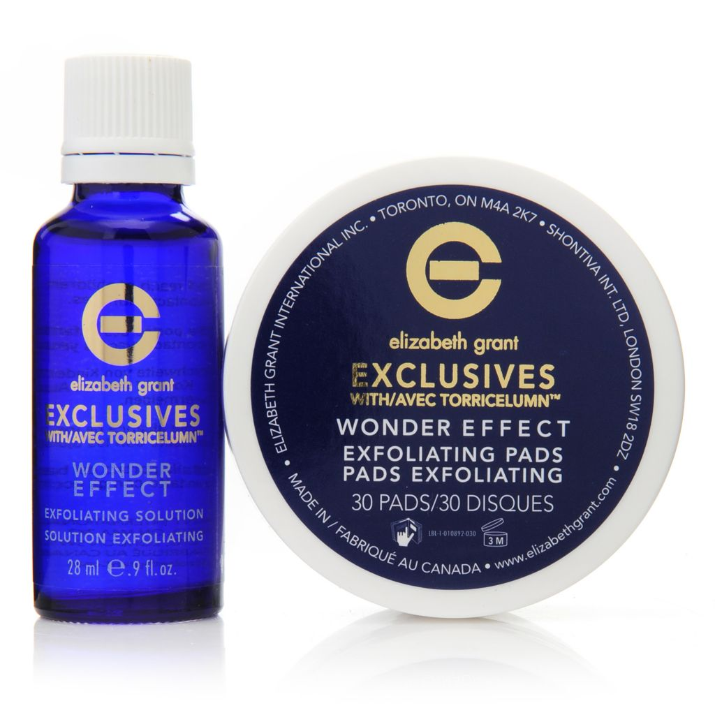 307-230 - Elizabeth Grant Exclusives Wonder Effect Exfoliating Pads & Solution Duo