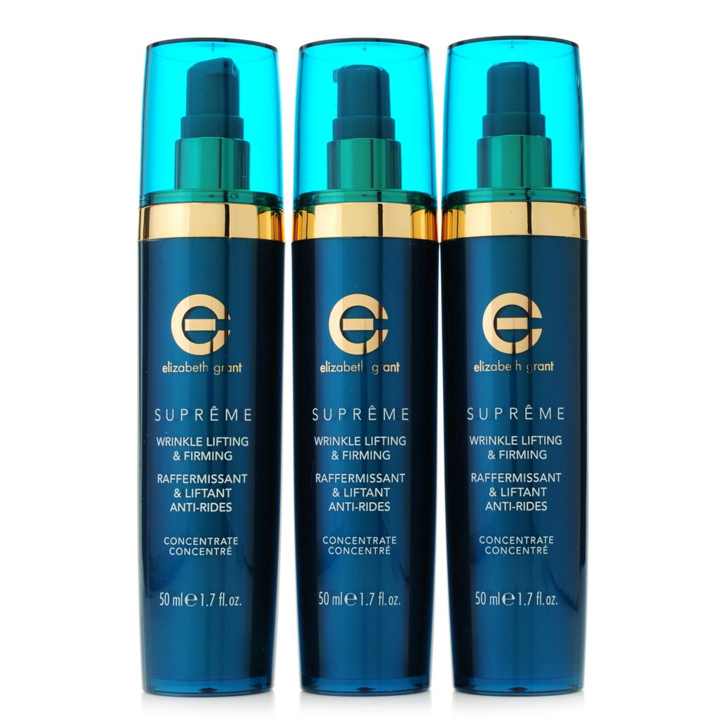 307-233 - Elizabeth Grant Supreme Wrinkle Lifting & Firming Concentrate Trio 1.7 oz Each