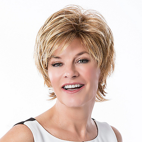 307-393 - Toni Brattin® Collar Length Tapered Smooth Layers Glamorous Wig