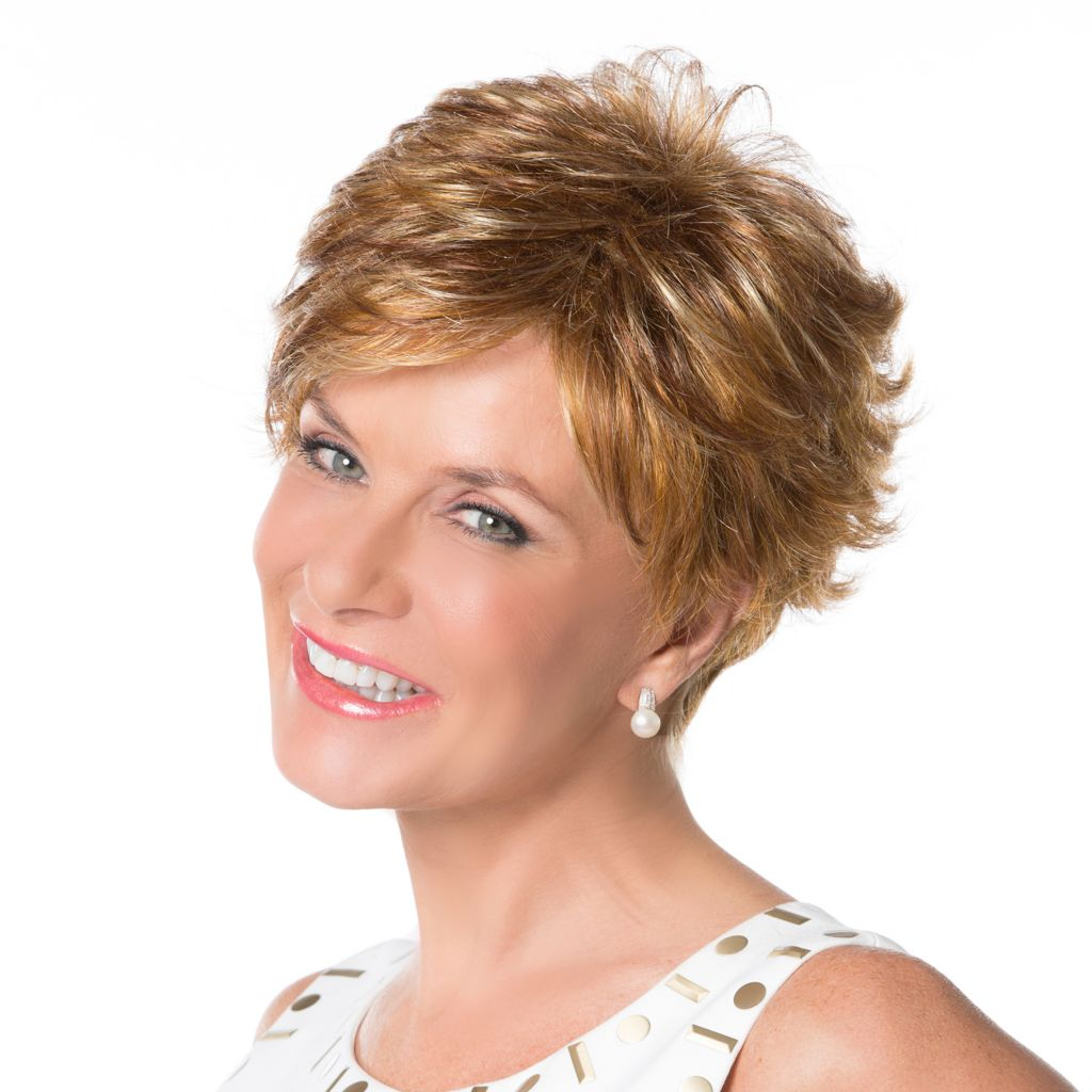 307-394 - Toni Brattin® Short Loosely Layered Flipped Ends Inspiration Wig