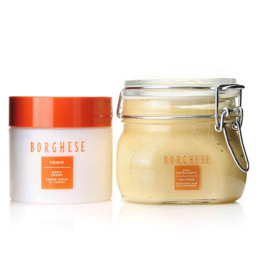 307-407 - Borghese Sali Esfoliante Salt Scrub & Tono Body Creme Duo