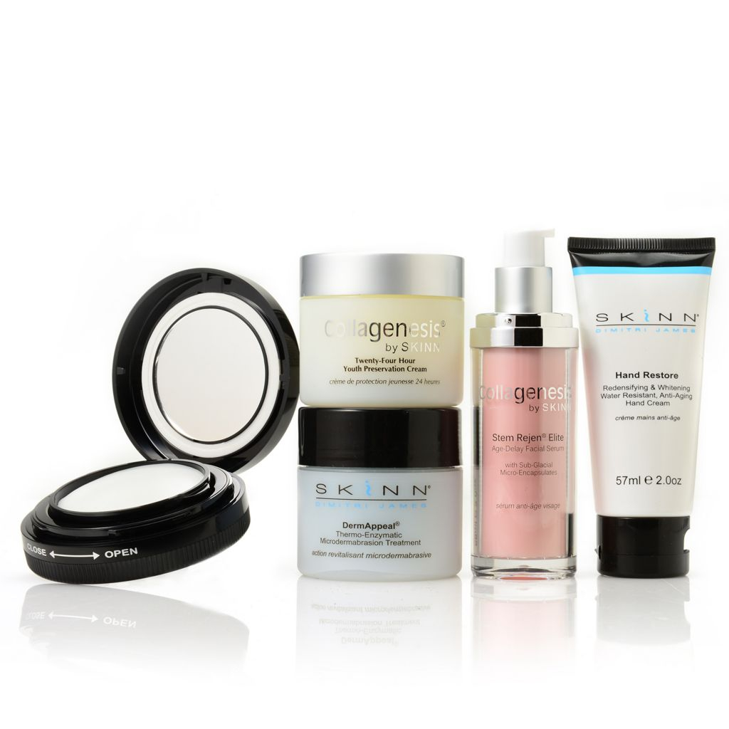 307-420 - Skinn Cosmetics Five-Piece Ultimate Global Beauty Skincare Collection