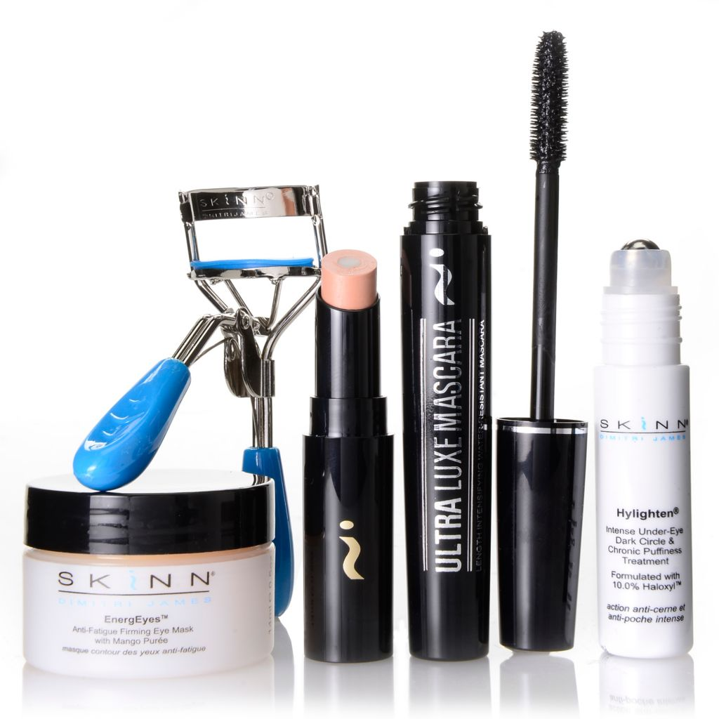 307-421 - Skinn Cosmetics Five-Piece Eye Essentials Skincare & Color Collection