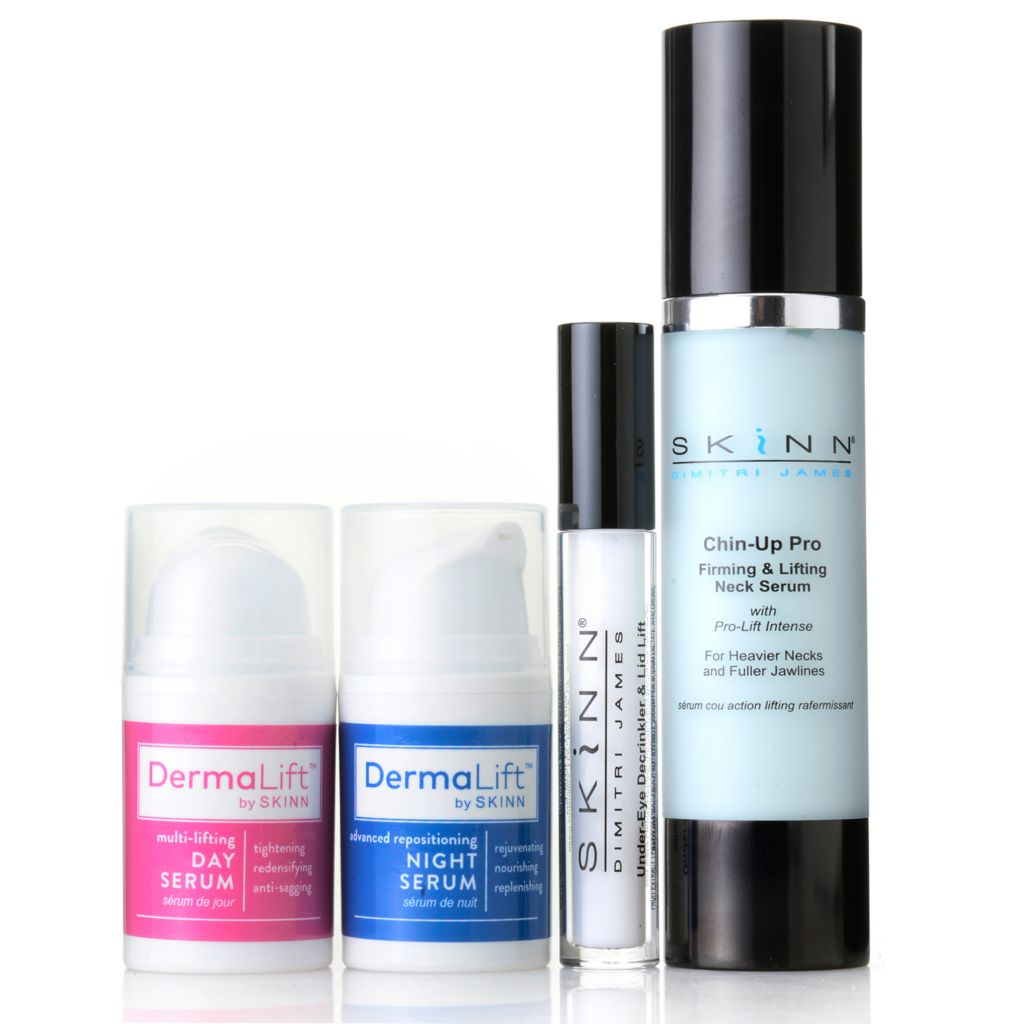 307-430 - Skinn Cosmetics Four-Piece DermaLift™ Lifting Skincare Collection