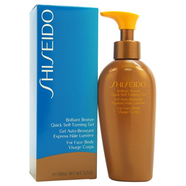 307-446 - Shiseido Brilliant Bronze Quick Self Tanning Gel 5 oz