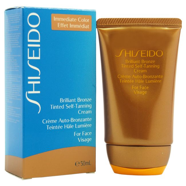 307-448 - Shiseido Brilliant Bronze Tinted Self-Tanning Cream 1.8 oz