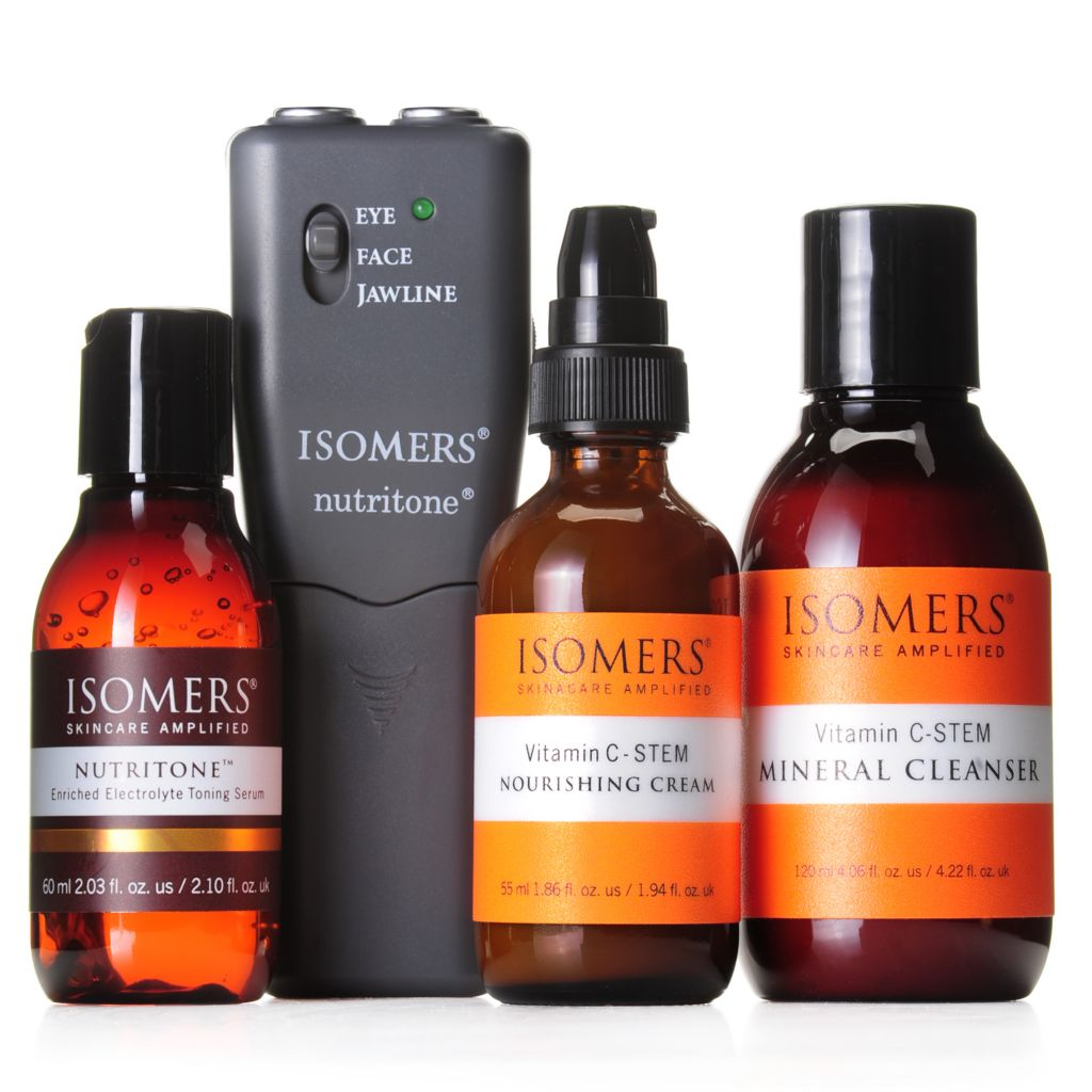 307-452 - ISOMERS® Nutritone™ Facial Beauty System w/ Bonus Vitamin C-STEM Series Duo