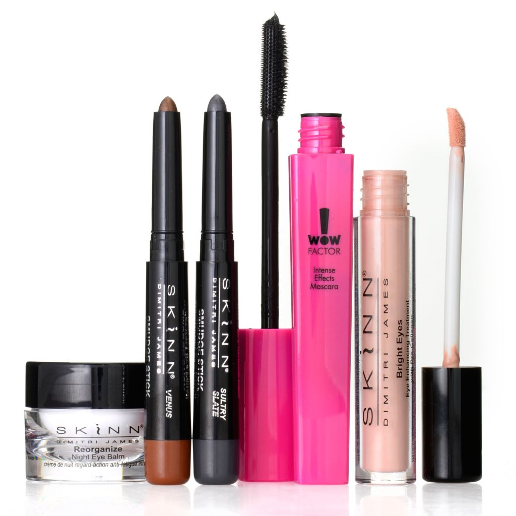 307-457 - Skinn Cosmetics Five-Piece Gorgeous Eyes Essentials Collection