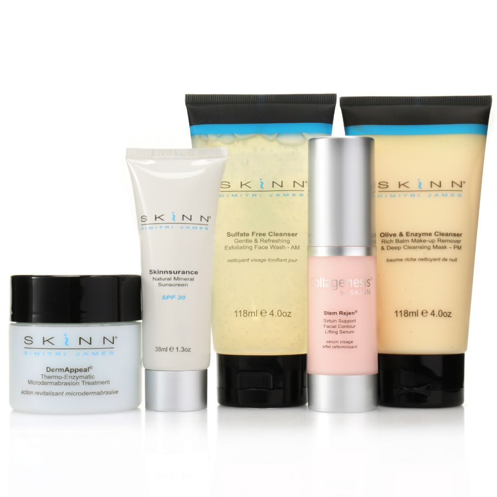 307-469 - Skinn Cosmetics Five-Piece Non-Negotiables Skincare Collection