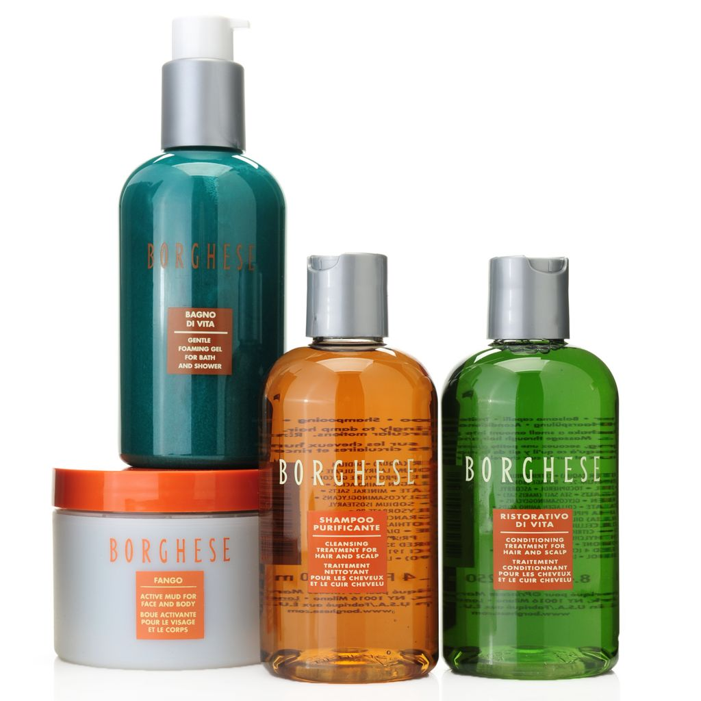 307-482 - Borghese Four-Piece Rejuvenating Shower Collection
