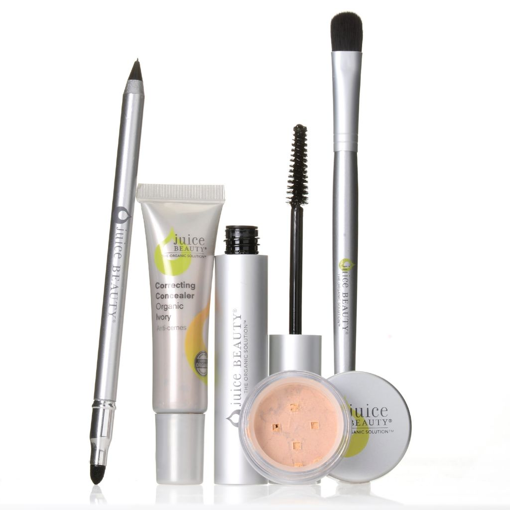 307-490 - Juice Beauty Five-Piece Certified Organic Bright Eyes Cosmetics Collection