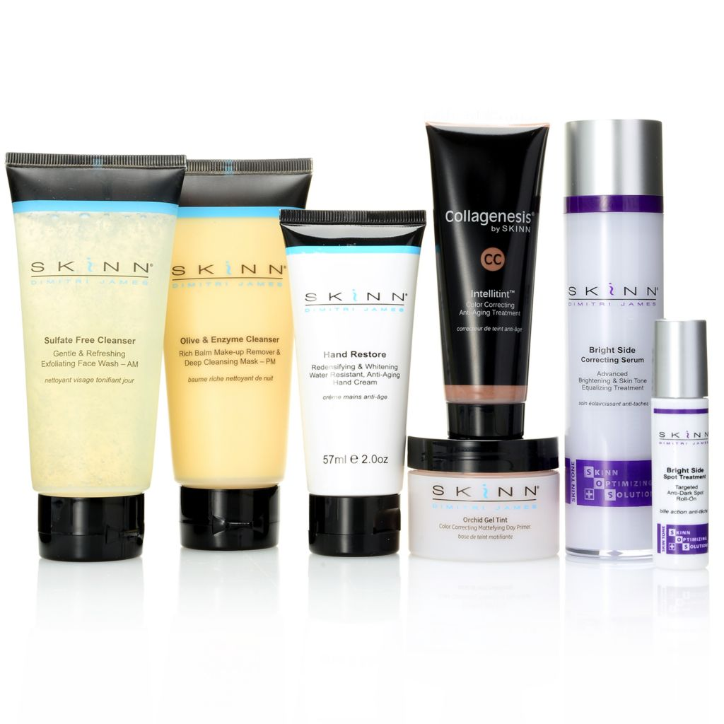 307-491 - Skinn Cosmetics Seven-Piece Luminous Skincare & Color Collection