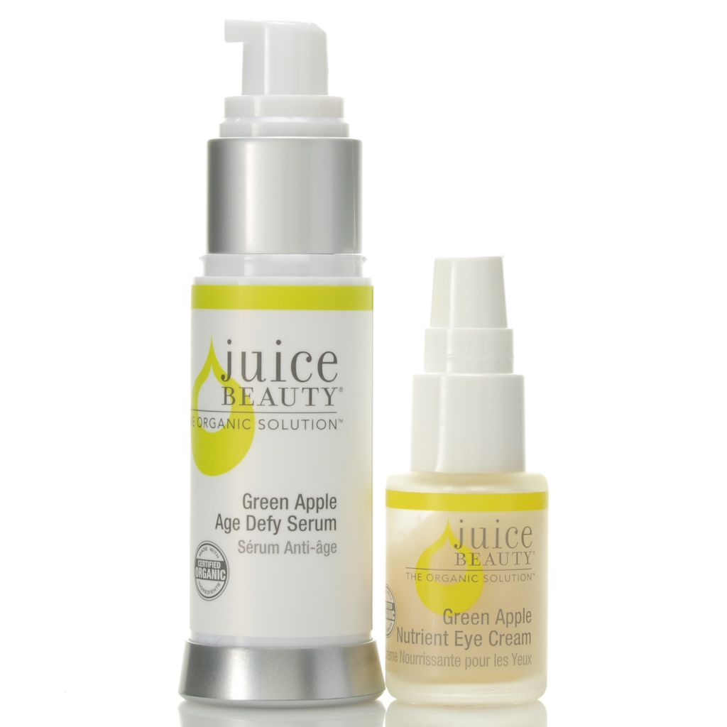 307-493 - Juice Beauty Green Apple Age Defy Serum & Nutrient Eye Cream Duo