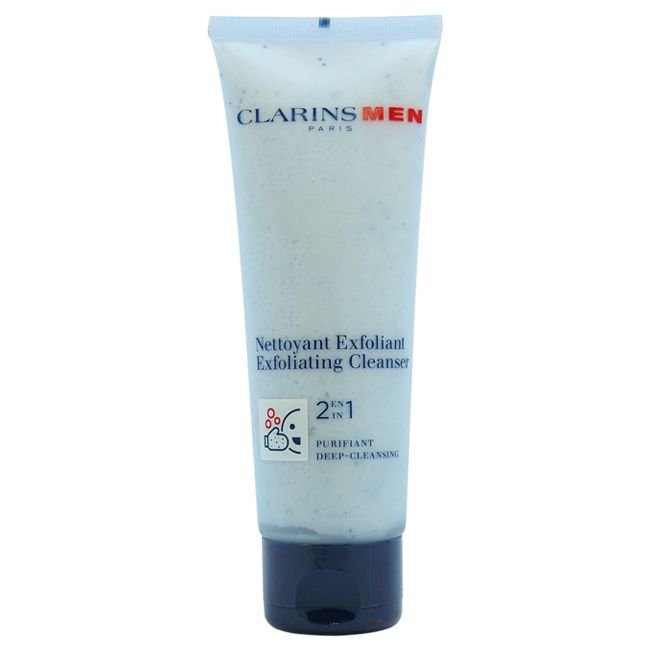 307-532 - Clarins Men 2-in-1 Exfoliating Cleanser 4.4 oz