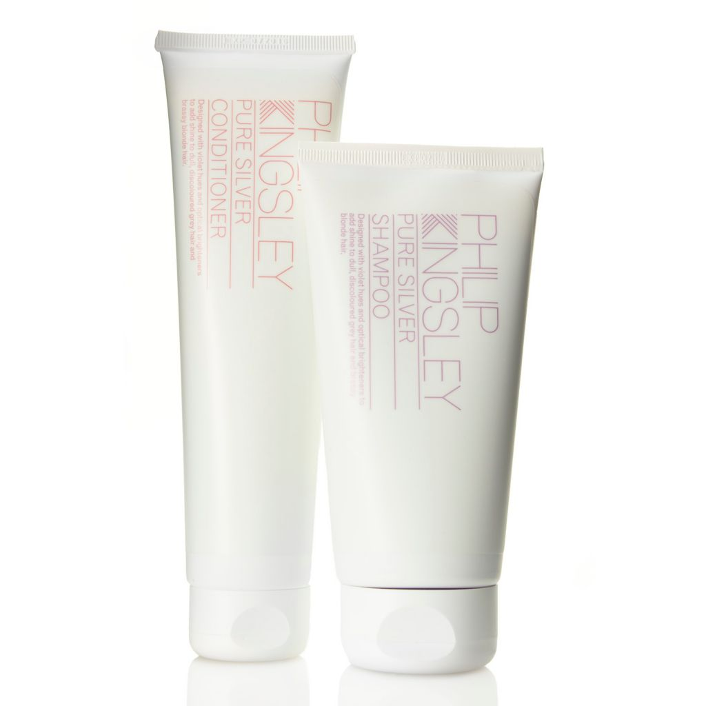 307-560 - Philip Kingsley Pure Silver Brightening Shampoo & Conditioner Duo