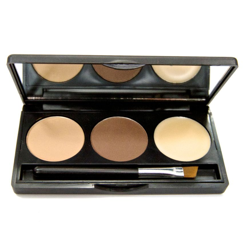 307-580 - Modern Luxuri Blonde To Soft Brown Trio Brow Palette 0.18 oz