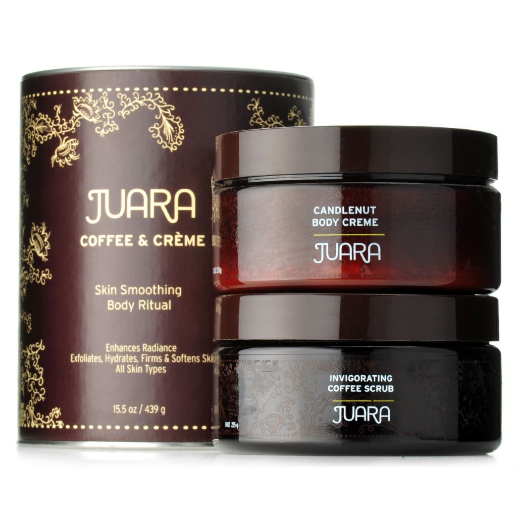307-604 - JUARA Invigorating Coffee Scrub & Candlenut Body Creme Duo