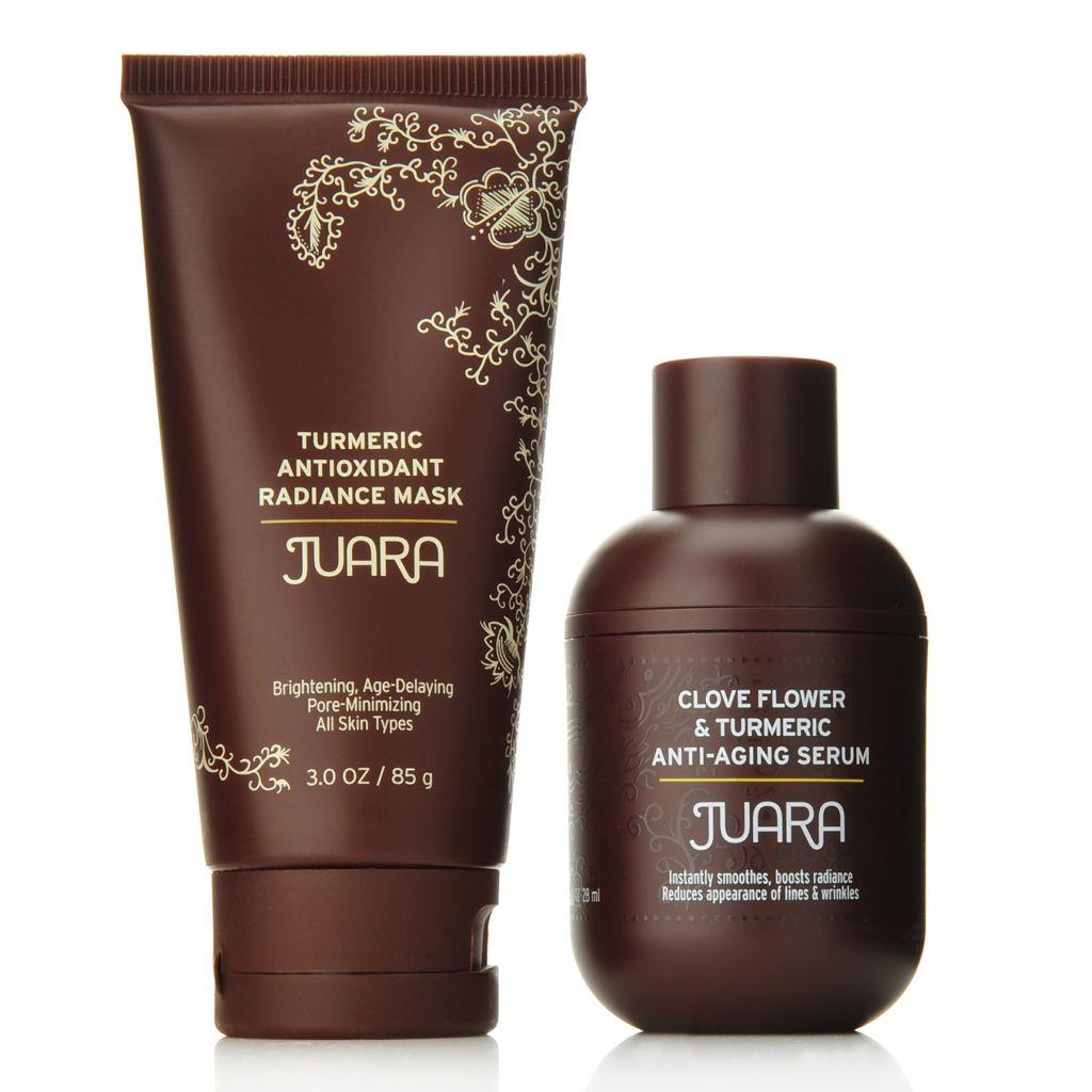 307-609 - JUARA Clove Flower & Turmeric Anti-Aging Serum & Antioxidant Radiance Mask Duo