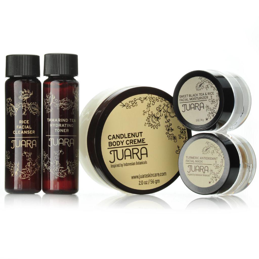 307-610 - JUARA Five-Piece Travel Size Skincare Essentials Kit w/ Travel Bag