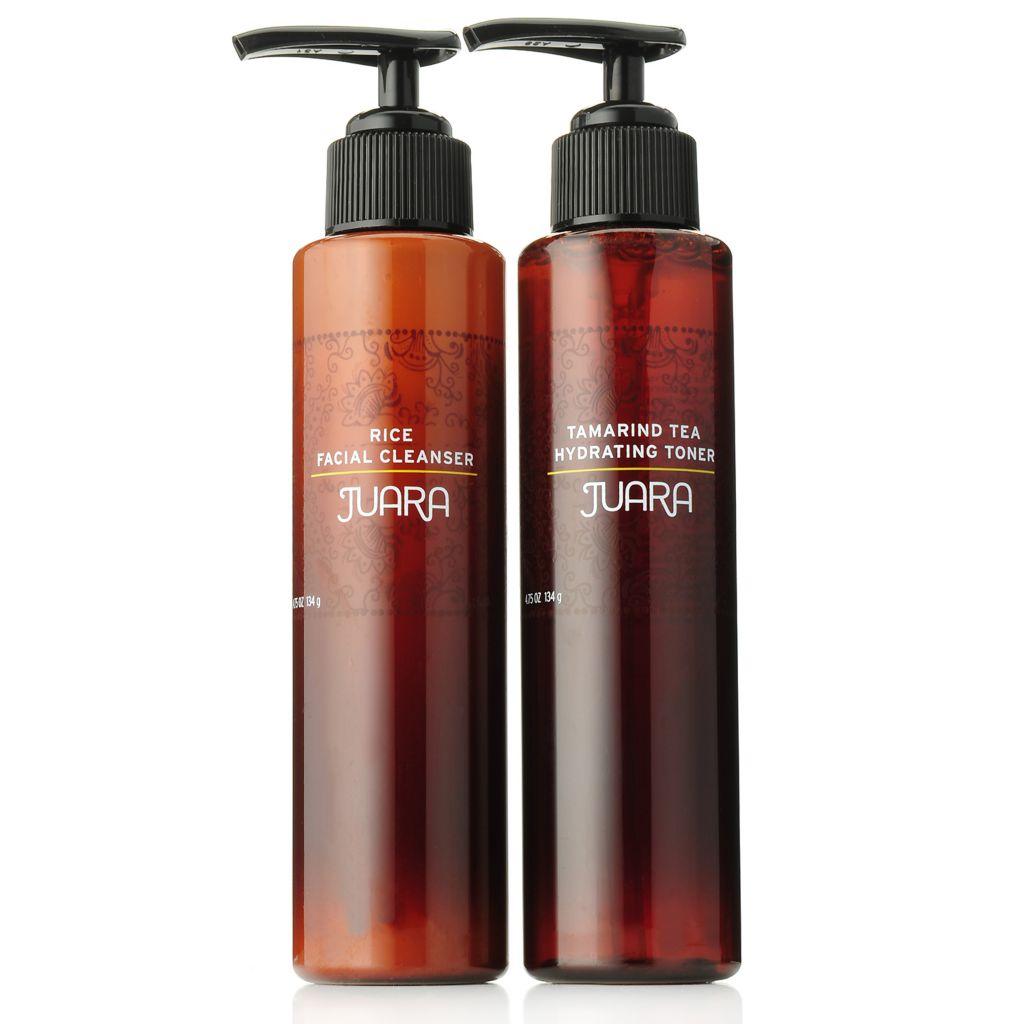 307-614 - JUARA Rice Facial Cleanser & Tamarind Tea Hydrating Toner Duo 4.75 oz Each