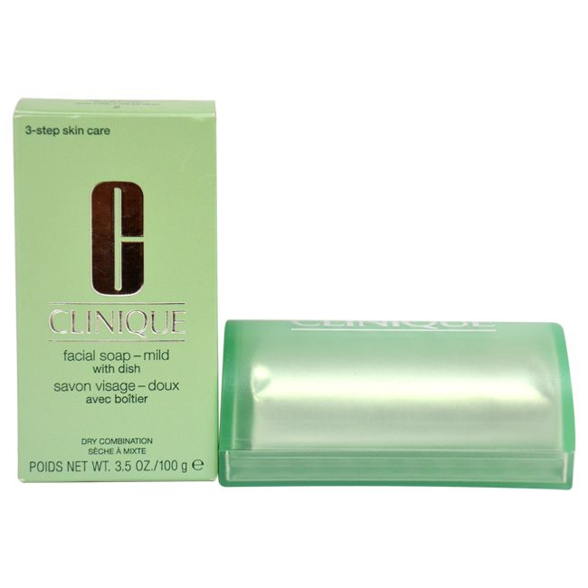 307-650 - Clinique Mild Facial Soap w/ Dish 3.5 oz
