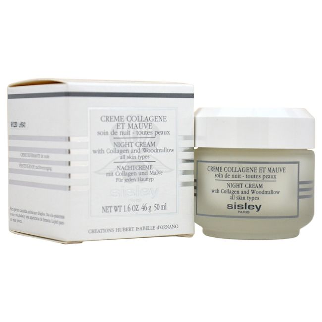 307-670 - Sisley Night Cream w/ Collagen & Woodmallow 1.6 oz