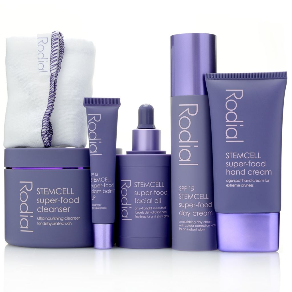 307-696 - Rodial Alpine Rose STEMCELL Infinity Five-Piece Anti-Aging Skincare Set