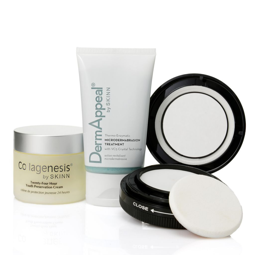 307-703 - Skinn Cosmetics DermAppeal, Youth Preservation Cream & Plasma Flawless Finish Trio
