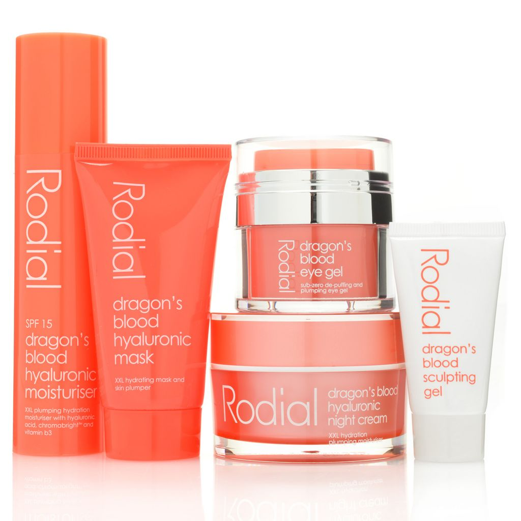 307-726 - Rodial Five-Piece Dragon's Blood Define & Sculpt Anti-Aging System