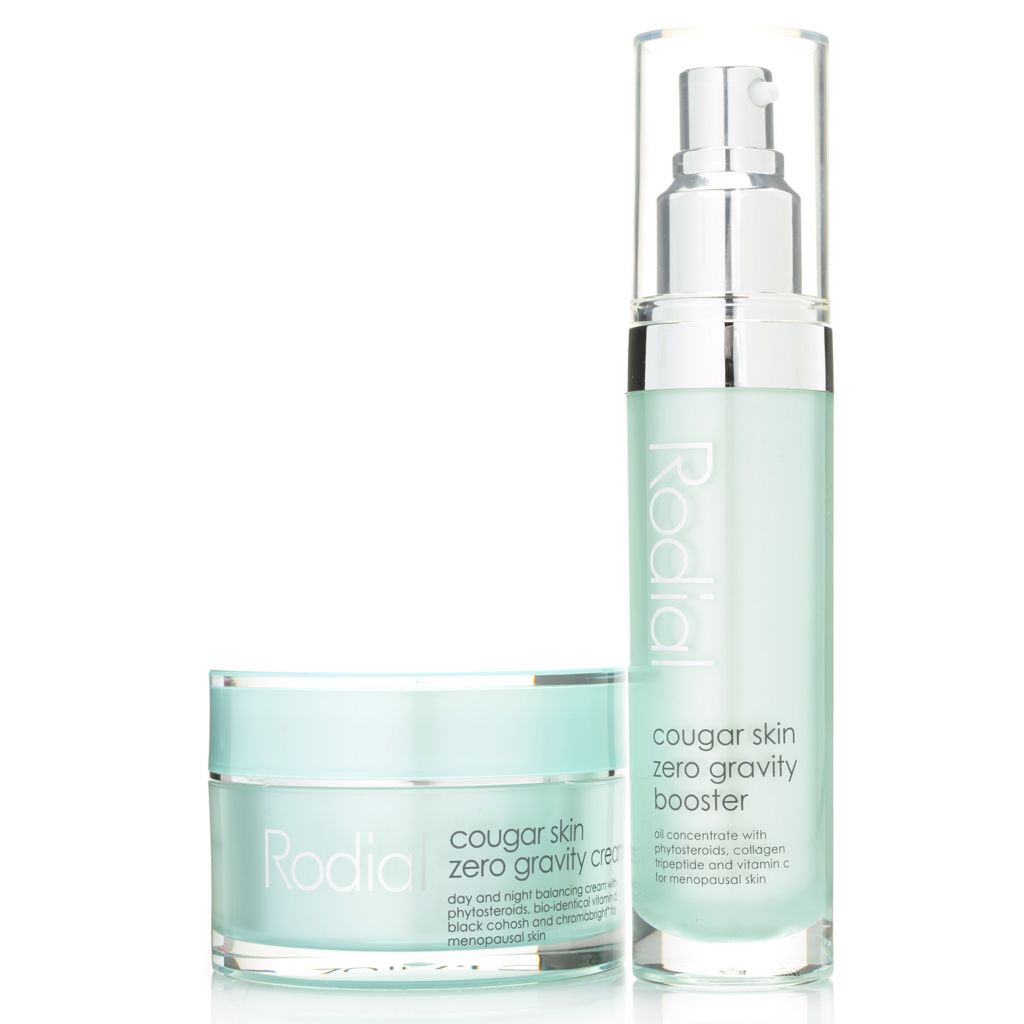307-727 - Rodial Cougar Skin Zero Gravity Booster & Cream Skincare Duo