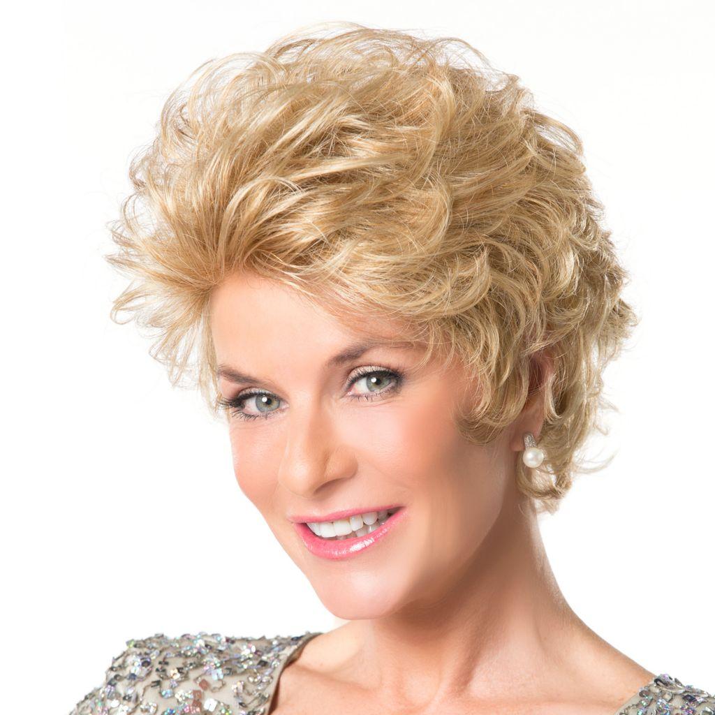 307-748 - Toni Brattin® Soft Body Curls & Soft Shag Neckline Confidence Wig