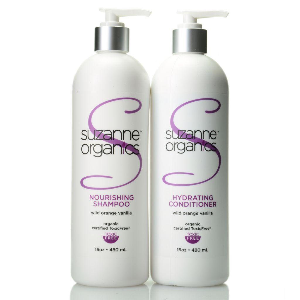 307-850 - Suzanne Somers Organics Salon Size Shampoo & Conditioner Duo