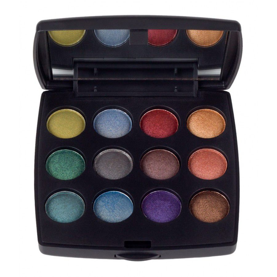 "307-883 - Coastal Scents 12-Color ""Travel"" Eye Shadow Palette"