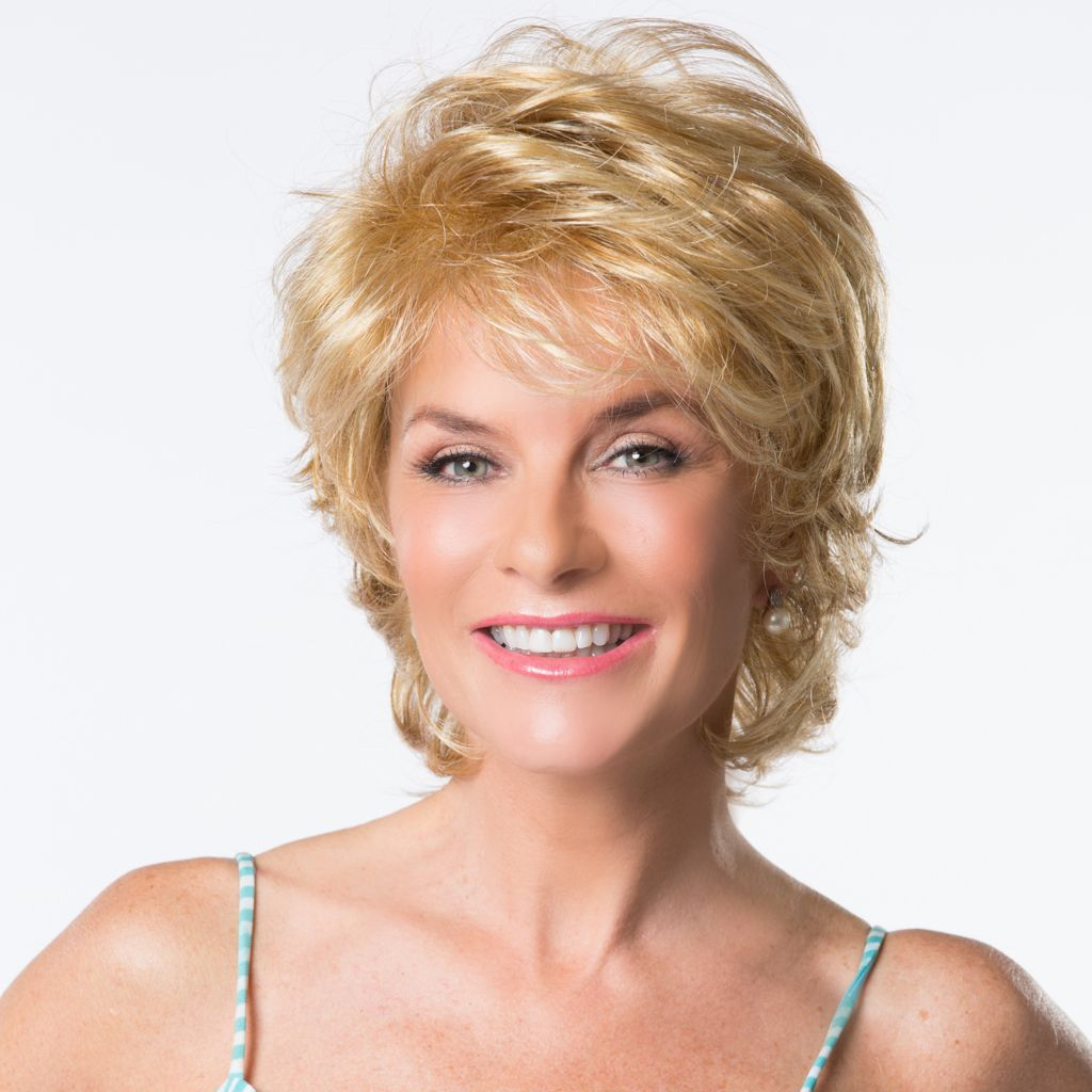 307-895 - Toni Brattin® Short-Length Layered Marvelous Wig